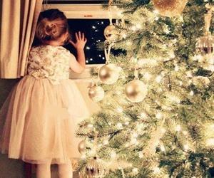 christmas, santa, and christmas tree image