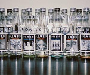 bottles, jones, and starbucks image
