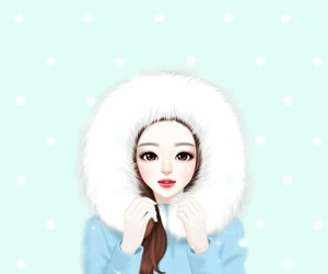 cold, girly, and sweet image