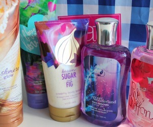 beauty, bath and body works, and girly image