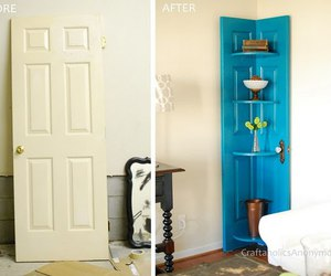 diy, decor, and blue image