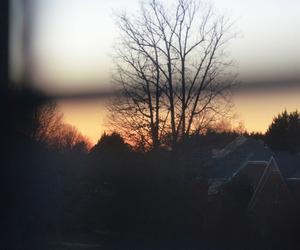 vintage and sunset image