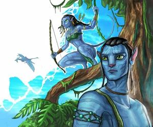 avatar movie, fan art, and James Cameron image
