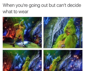funny, girls, and grinch image