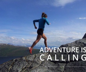 adventure, athlete, and mountain image