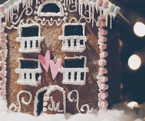 christmas, cozy, and gingerbread image
