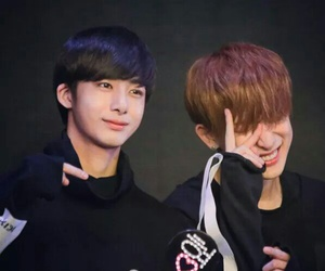 wonho and hyungwon image
