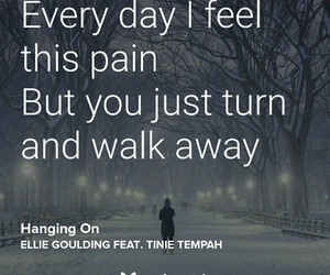 Ellie Goulding, inspirational, and quote image