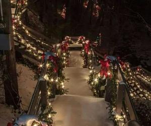 christmas, decor, and lights image