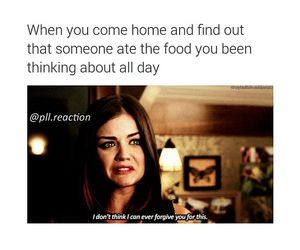 food, quote, and pll image