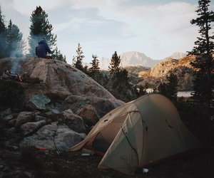 nature and camping image