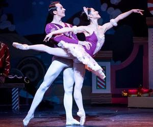 ballerina, colorful, and couple image