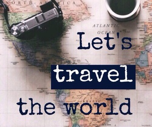 goals, travel, and tumblr image