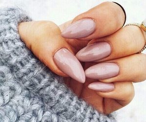 cool, manicure, and pink image