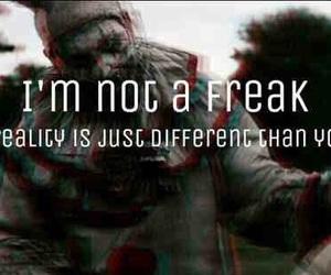 creepy, ahs, and clown image