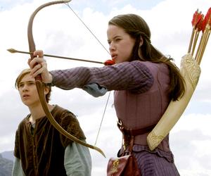 arrow, bow, and narnia image