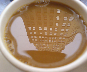 coffee, building, and city image