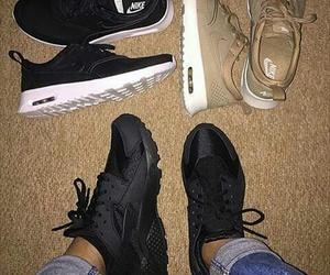 nike, shoes, and huarache image