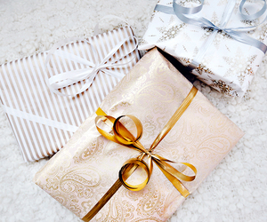 christmas, gifts, and wrapping image