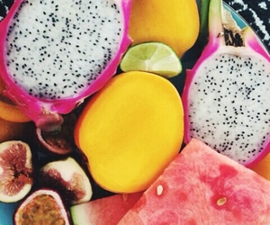 tropical, bright, and fruit image