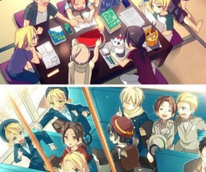 hetalia, aph france, and aph germany image