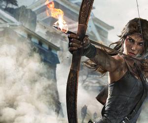 tomb raider, lara croft, and game image