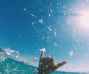 summer, sun, and water image