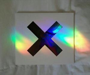 rainbow, grunge, and music image