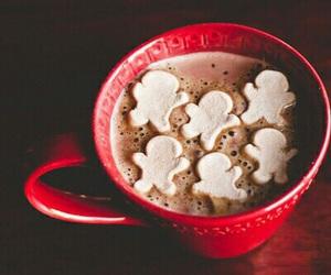 winter, chocolate, and hot chocolate image