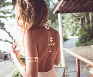 back, summer, and girl image