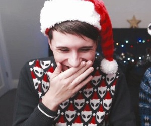boy, christmas, and holiday image