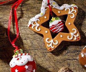 christmas, gingerbread, and star image