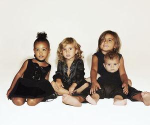 north west, kardashian, and kids image