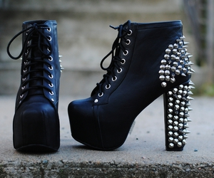 fashion, jeffrey campbell, and shoes image