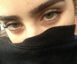 grunge, eyes, and green eyes image