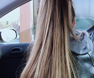 blond, grey, and haircut image