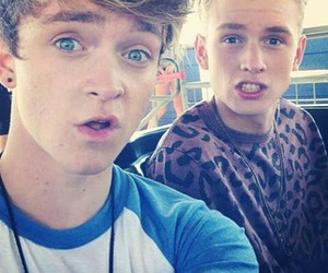 the vamps, connor ball, and tronnor image