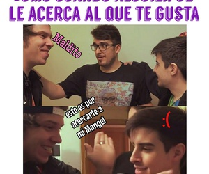 meme, elrubius, and youtubers image