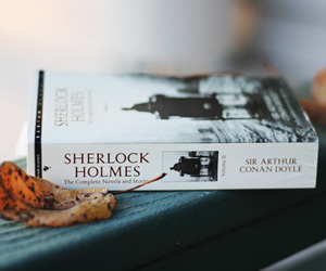 book, sherlock, and sherlock holmes image