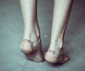 feet, grunge, and legs image
