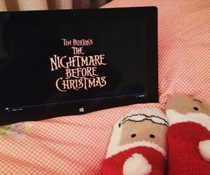 christmas, socks, and the nightmare before christmas image