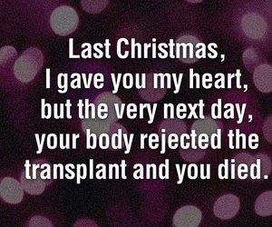 christmas, heart, and quote image