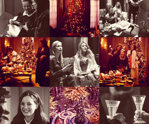 christmas, gossip girl, and blair image