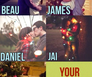band, christmas, and romance image