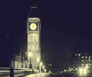 night, light, and london image