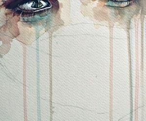 eyes, art, and cry image