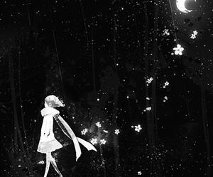 night, anime, and art image