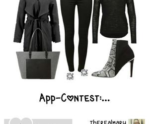 girl, high heels, and shopping image