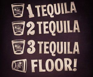 tequila, drink, and floor image