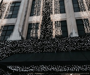 chanel, light, and christmas image